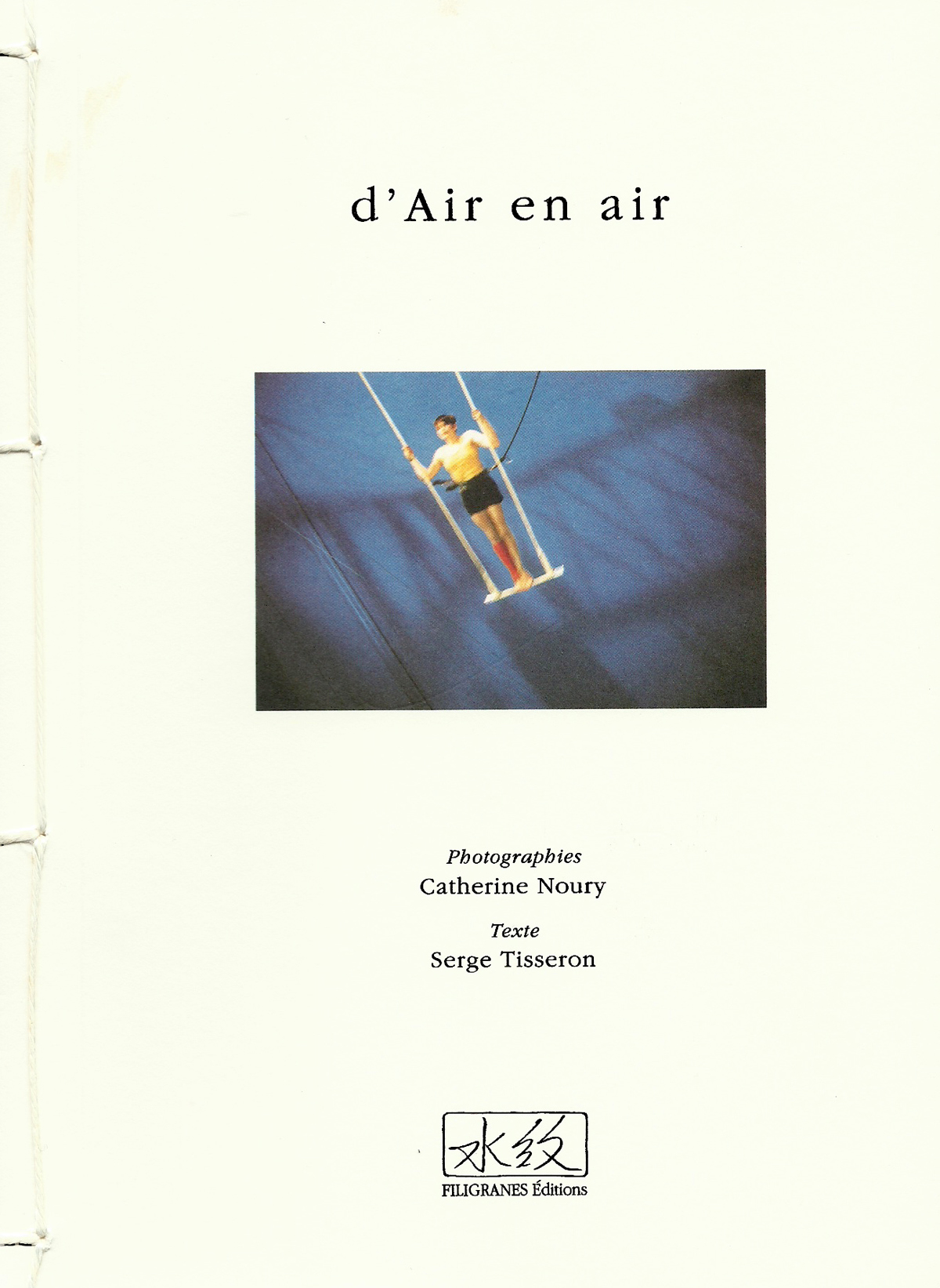 D'air en air, photographies de Catherine Noury