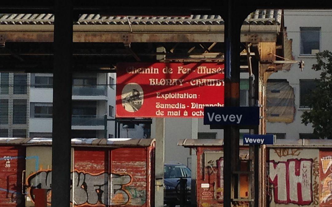 Gare de Vevey