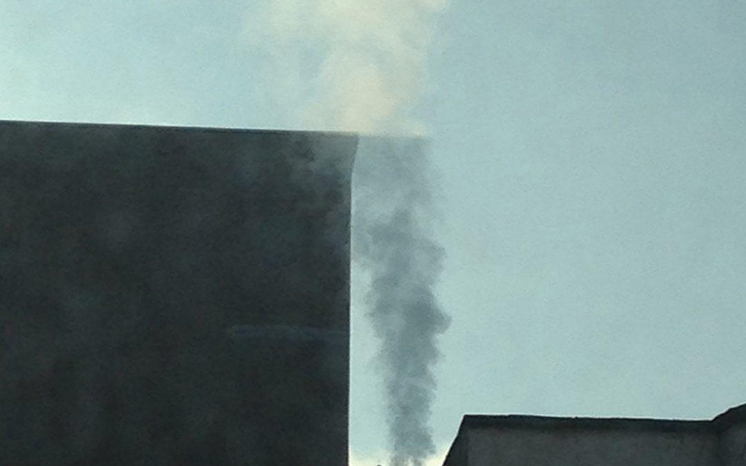 Fumée de ma fenêtre