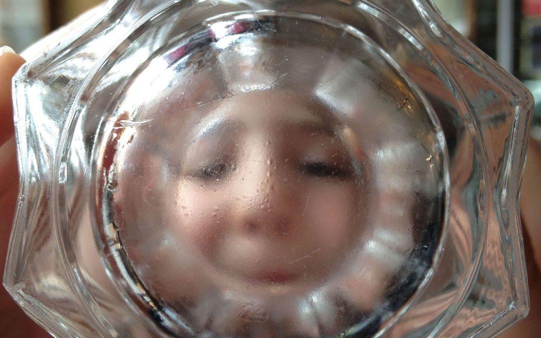 Adriane au verre