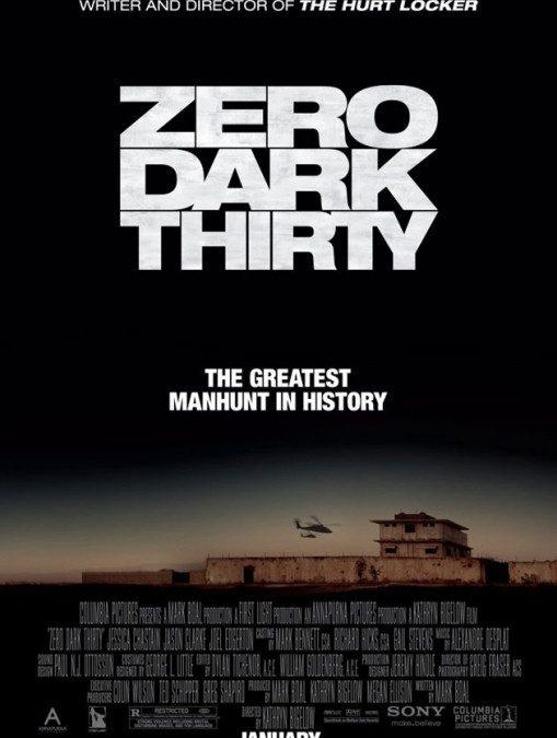 ZERO DARK THIRTY – Comment une obscure employée de la CIA se retrouve habillée en super héros