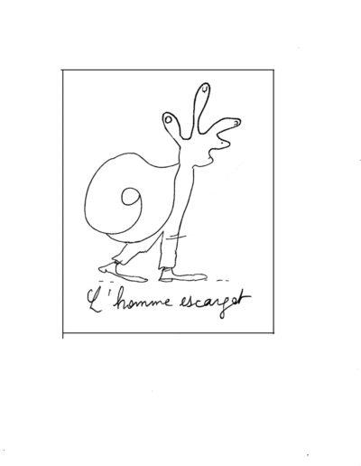 6) l'homme escargot 1983